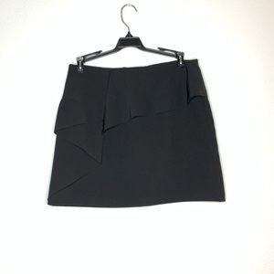 5/$25 ZARA black ruffle skirt